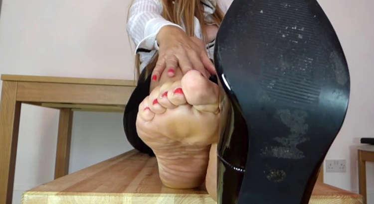 feticista scarpe